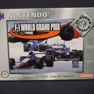 Retro Game Zone – F1 World Grand Prix – Boîte 1
