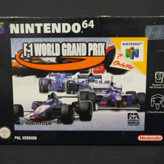 Retro Game Zone – F1 World Grand Prix – Boîte