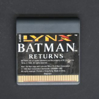 Retro Game Zone – Lynx Batman Returns