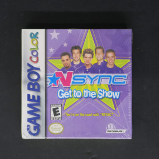Retro Game Zone – NSYNC Get to the Show