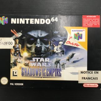 Retro Game Zone – Star Wars Shadows Of The Empire 3