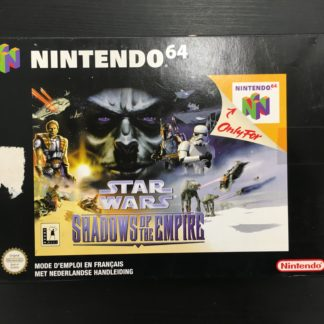 Retro Game Zone – Star Wars Shadows Of The Empire